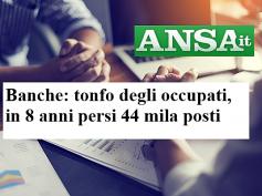 Ansa, analisi First Cisl occupazione banche, Romani, riforma e rilancio maturi