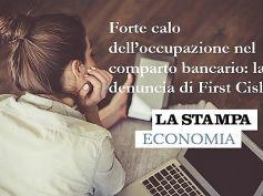 La Stampa, studio First Cisl, Romani, con riforma stop a emorragia lavoro