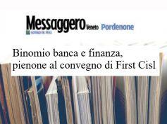 Messaggero Veneto, pienone al convegno First Cisl su binomio banca e finanza
