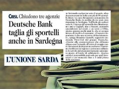 L'Unione Sarda, Deutsche Bank si riorganizza, First Cisl, esuberi salvaguardati