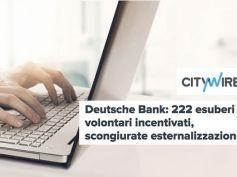 Deutsche Bank, la notte porta consiglio e anche l'accordo, no esternalizzazioni