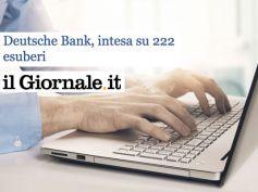 Il Giornale, Deustche Bank, esternalizzare avrebbe messo in dubbio contratto