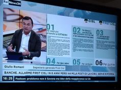 Giulio Romani in studio a RaiNews24, urge una riforma del sistema bancario