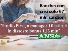 Ansa, studio First Cisl, poche sanzioni per dissesti, Romani, punire i disastri