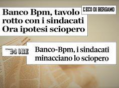 Banco Bpm, si rompe il tavolo, trattativa in bilico, sciopero possibile