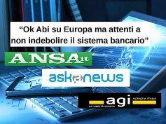Assemblea Abi, First Cisl e Cisl, Europa ok ma le banche non vanno indebolite