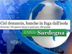 Ansa, banche, Sardegna addio, ma ci sono strumenti per assumere, basta volerlo