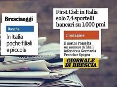 Studio First Cisl, per i quotidiani bresciani in Italia poche e piccole filiali