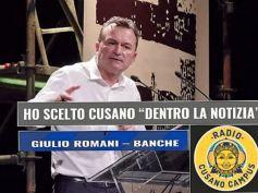 Giulio Romani a Radio Cusano Campus, banche, Italia peggio di Cipro
