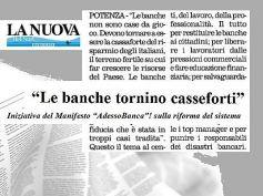 AdessoBanca! a Potenza, serrato confronto sui 6 punti del manifesto