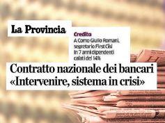 La Provincia, Romani a Como, necessaria riforma di sistema per ridare fiducia