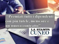 La Stampa, Areariscossioni isola felice, un contratto, meno ore, nuove tutele