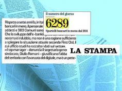 La Stampa, studio First Cisl, Romani, nuovo contratto e riforma sociale sistema