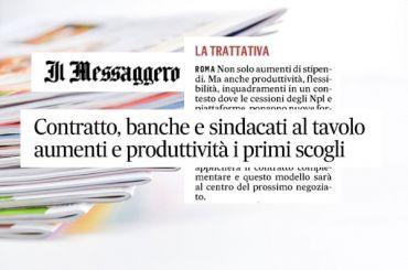 Rinnovo ccnl banche, Romani, i costi non sono solo oneri ma anche investimenti