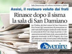 Assisi, con First Social Life rinasce la sala del Cantico delle creature