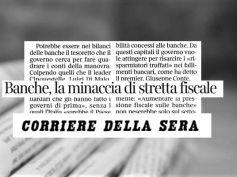 Corsera, stretta fiscale banche, Romani, 120mila firme per legge stop privilegi