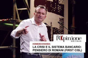 L'Opinione, Giulio Romani, la campagna contro le banche fa male al Paese