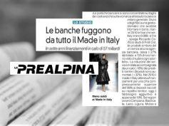 Studio First Cisl sul credito, le banche fuggono dal Made in Italy