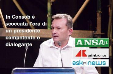 First Cisl, Romani, in Consob vada un presidente dialogante e di alto profilo
