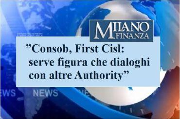 Milano Finanza, Romani, Consob, due mesi senza guida, serve figura di spessore