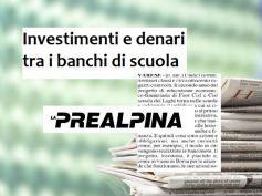 La Prealpina, Cisl e First Cisl, educazione finanziaria a scuola