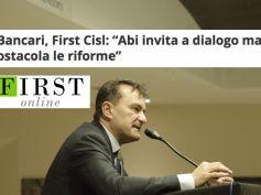 Firstonline, Romani, Abi invita a dialogo ma ostacola le riforme