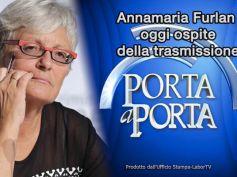 13 dicembre, Annamaria Furlan a Porta a Porta su manovra e dialogo sociale