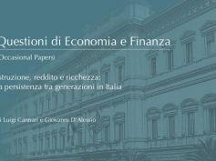 Wob, l'indagine della Banca d'Italia sull'ascensore sociale