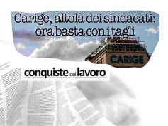 Rilancio Carige, First Cisl, in 5 anni meno personale e filiali, cambiare passo