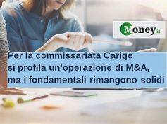 Money.it su Carige, Romani, tutelare risparmio con adeguata politica creditizia