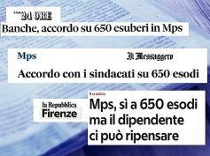 First Cisl, accordo esodi volontari Mps, ripristinati fondamentali meccanismi