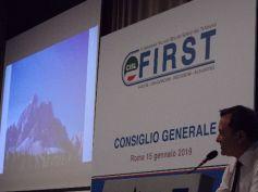 Consiglio generale First Cisl, Romani, salire è la maniera di vedere il mondo