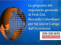 First Cisl, Colombani segretario formula proposta per salvataggio Carige