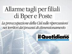 Bper rivede rete filiali calabre, First Cisl, non si privi il Sud di servizi