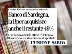 L'Unione Sarda, Banco di Sardegna in Bper, First Cisl per la tutela del lavoro