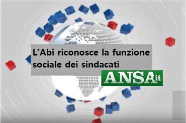 Rinnovo contratto banche, Colombani, Abi riconosce funzione sociale sindacati