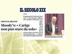 Il Secolo XIX, Colombani, la produttività dei lavoratori rilancia Carige