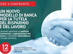 Un nuovo modello di banca, tavola rotonda a Foggia promossa da First Cisl