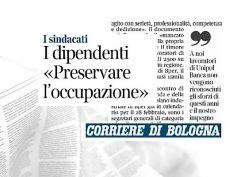 Cessione Unipol a Bper, First Cisl Emilia Romagna a protezione dell'occupazione