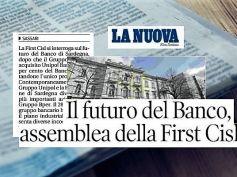 Banco di Sardegna nel gruppo Bper, First Cisl in assemblea con i lavoratori