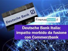 Deutsche bank, First Cisl, puntiamo al minimo impatto di eventuale aggregazione