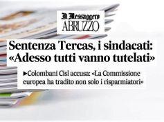 La sentenza Tercas ha sconfessato le politiche della Commissione europea