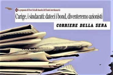 Corsera, Colombani, rilancio Carige, banche restino con lavoratori azionisti