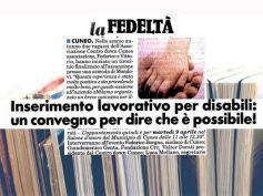 I disabili nel mondo del lavoro, se ne parla a Cuneo