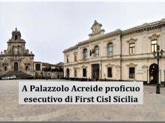 Esecutivo First Cisl Sicilia tra economia regionale e rinnovo contrattuale