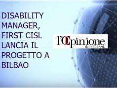 L'Opinione, First Cisl propone la figura del disability manager aziendale