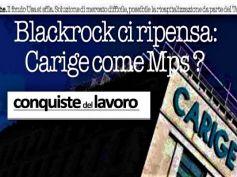No di BlackRock a Carige, Colombani, rischio che Ue applichi stessa ricetta Mps