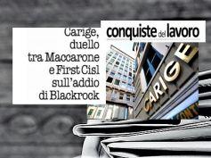 Conquiste del Lavoro, Carige e addio BlackRock, Colombani replica a Maccarone