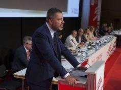 Luca Visentini rieletto alla guida della Ces