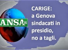 Ansa, a Genova presidio dei sindacati per salvataggio banca e posti di lavoro